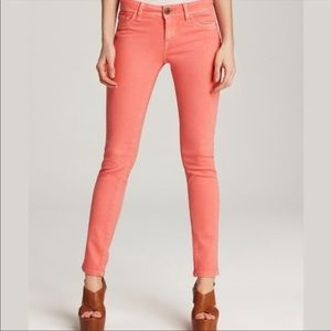 Free People Coral Stretch Skinny Ankle Jeans